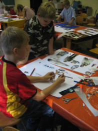 """Die Alte Post unterstützt seit 2004 Grundschulen bei der Gestaltung des Programms der Ganztagsschulen """"Ogata"""""""