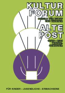Kursverzeichnis Kulturforum Alte Post - Wintersemester 2020/21